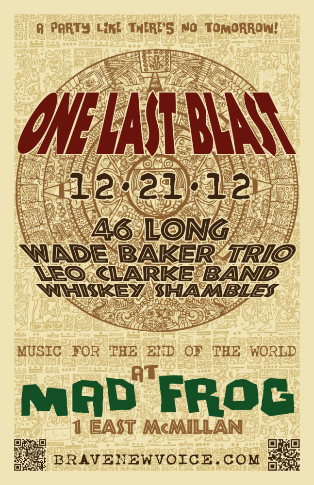 ONE LAST BLAST: Live at Mad Frog