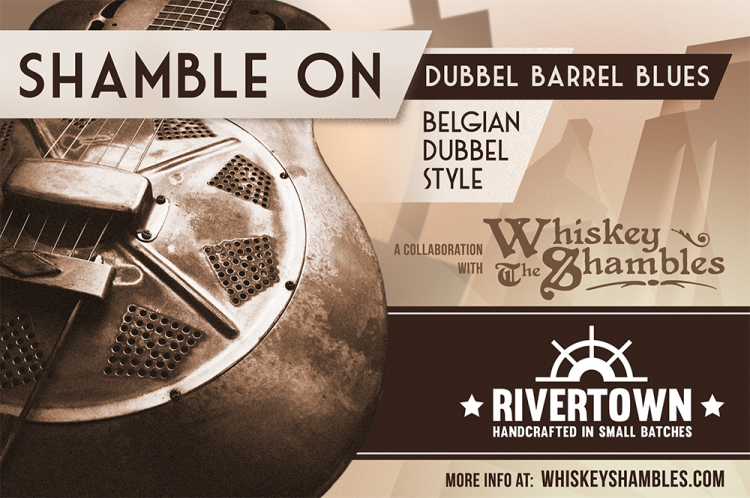 Shamble On (label) - The Whiskey Shambles